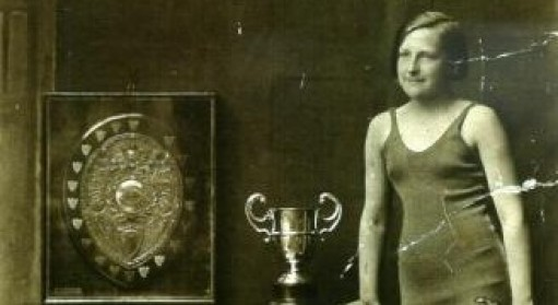 Zilpha Grant with some of her trophies