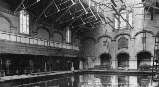 Males First Class Pool, 1905