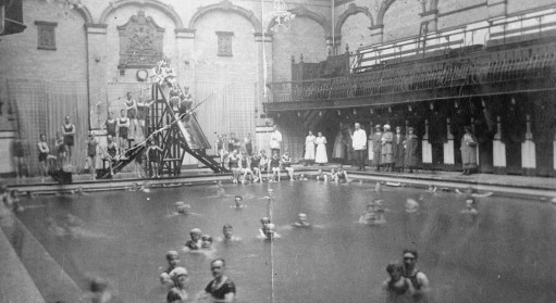 Mixed bathing c.1922
