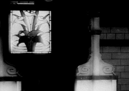 Detail of Lilies window, 1906
